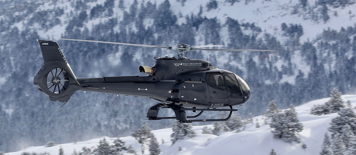 Helicoptere Airbus FG GUN