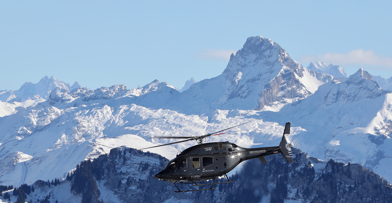 Chamonix Luxury Helicopter Transfers