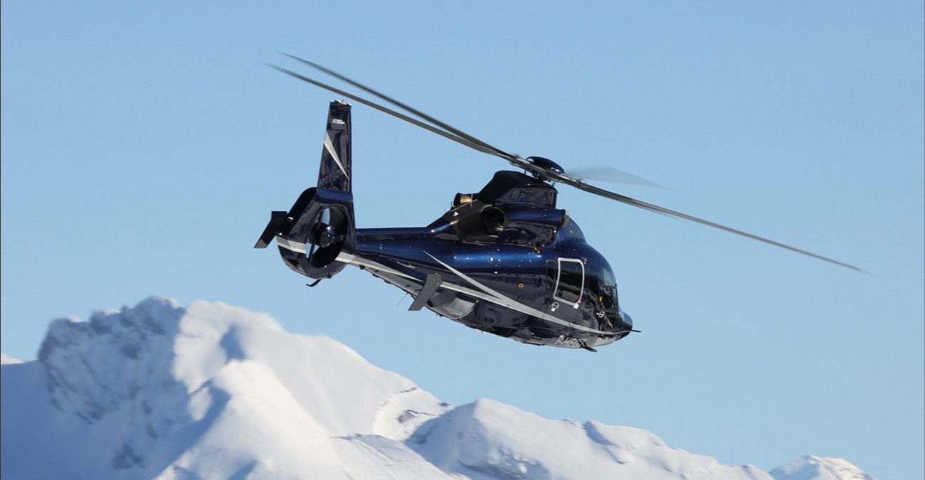 Luxury Helicopters in Megeve