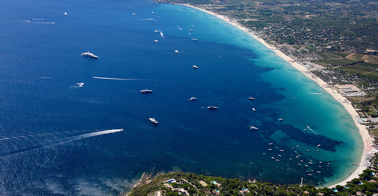 Helicopter transfer from Nice to Saint-Tropez