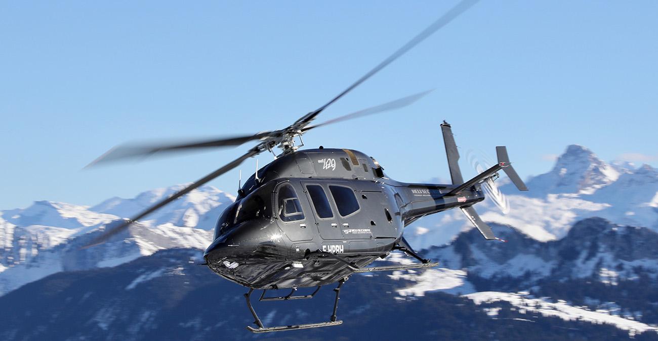 Nos transferts en hélicoptères à Chambéry