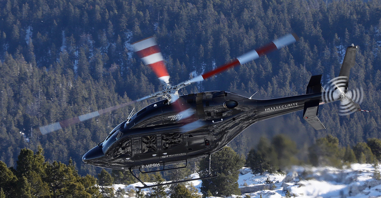 Transferts en hélicoptère à Annecy