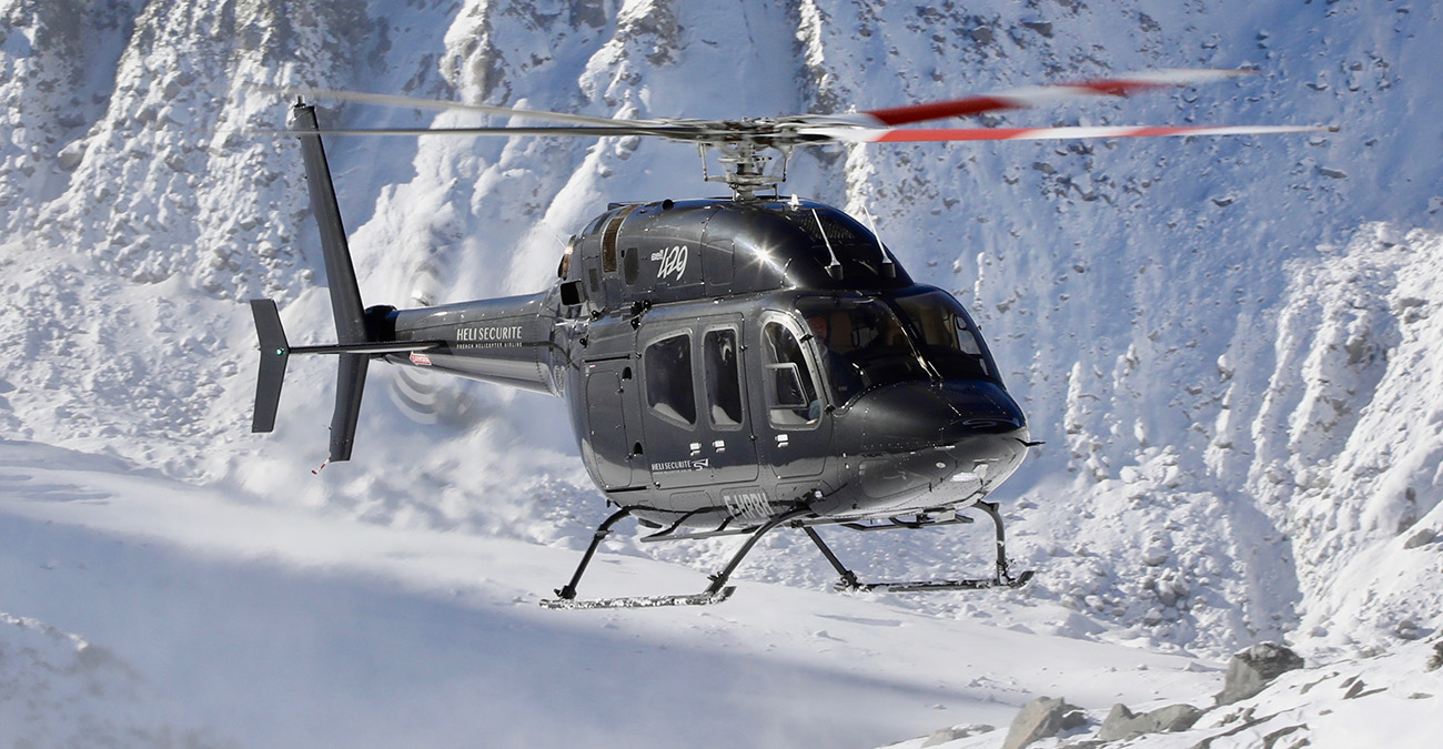 Helicopter transfers from Lyon to French Alps and Swiss Alps